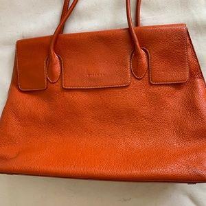 Dissonia Orange Kelly style bag